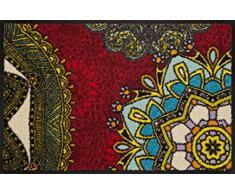 Schmutzfangmatte 17145-A01 rot_60x40.pcx Fußmatte waschbar
