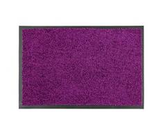 Proper Tex Uni Schmutzfangmatte / Türmatte / Fußabstreifer / robust / langlebig / für den Innenbereich - burgund - 60 x 90 cm
