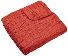 Zebra Textil Sofa, Orange