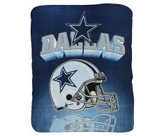 Northwest Dallas Cowboys Fleecedecke, leicht, 127 x 152 cm