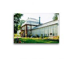 Premium Textil-Leinwand 45 x 30 cm Quer-Format Großes Gewächshaus | Wandbild, HD-Bild auf Keilrahmen, Fertigbild auf hochwertigem Vlies, Leinwanddruck von Markus W. Lambrecht