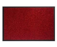 Hamat Schmutzfangmatte Twister für den Innenbereich, Polyamid, Rot, 60 x 80 cm