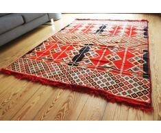 Damaskunst 200x135 cm Orientalischer Teppich, Kelim,Kilim,Carpet,Bodenmatte,Bodenbelag,Rug Neu S 1427