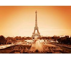 Innova FP05465 Glasbild Eiffelturm, 50 x 70 cm