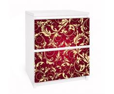 Apalis 91176 Möbelfolie für Ikea Malm Kommode - Selbstklebe The 12 Muses - Kleio, größe 2 mal, 20 x 40 cm