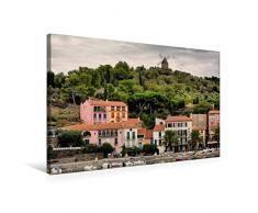 Premium Textil-Leinwand 75 x 50 cm Quer-Format Windmühle   Wandbild, HD-Bild auf Keilrahmen, Fertigbild auf hochwertigem Vlies, Leinwanddruck von Thomas Bartruff