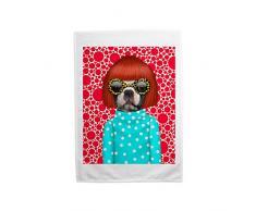 Pets Rock Spots Haustiere Print Geschirrtuch, mehrfarbig, 70Â x 46Â cm