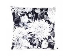 Pavillon Intérieur Kissen, Polyester, schwarz/weiß, 45x45x3 cm