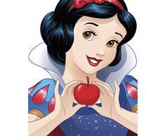 Disney Wandbild von Komar | Snow White Portrait | Kinderzimmer, Babyzimmer, Dekoration, Kunstdruck | Größe 40x50cm (Breite x Höhe) | ohne Rahmen | WB057-40x50