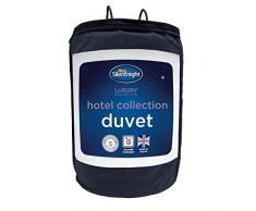 Silentnight Hotel Collection Bettdecke für Doppelbetten, 13,5 TOG, Weiß, Microfaser, weiß, Kingsize-bett 220 x 225cm