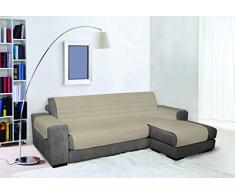Sofabezug, wasserdicht, doppelseitig, 290 cm, Taubengrau