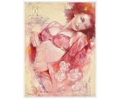 Eurographics JI1229 Joani, Victorias Secret 18 x 24 cm, Hochwertiger Kunstdruck - Akt - Erotik