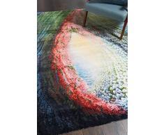 NOURISON Teppich, 100% Nylon, Mehrfarbig, 117cm x 178cm