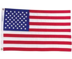 Paper House Productions Magnet für Kühlschrank und Schließfächer, 8,9 x 5,1 cm, gestanzt, US-Flagge