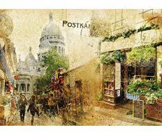 AG Design FTM 0493 Postkarte, Papier Fototapete - 160x115 cm - 1 Teil, Papier, multicolor, 0,1 x 160 x 115 cm