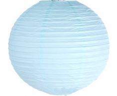 Matissa Lampenschirm aus Papier, für Hochzeit, Party, Dekoration, (blau), 40cm