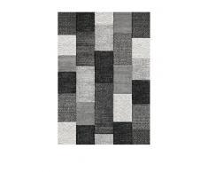 Chic Orange Teppich Belis/Carpet Scandinave grau 120 x 170 cm