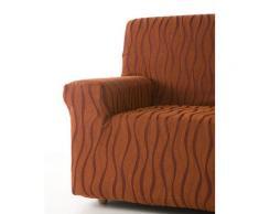 Zebra Textil Sofa-husse, Orange, 4 sitzer