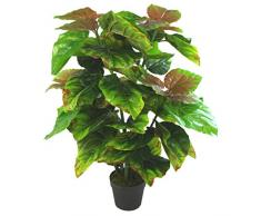 Leaf Kunstpflanze Ficusbaum, Kunstpflanze, Roxburgh-Feige, 80 cm
