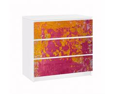 Apalis 91774 Möbelfolie für Ikea Malm Kommode The Loudest Cheer, größe 3 mal, 20 x 80 cm