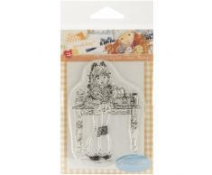 Stampavie Stempel Jacqueline Backform für bonbons und Blumen), Transparent