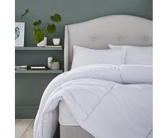 Silentnight Bettdecke, 80 Polyester/20% Baumwolle, Weiß, super King