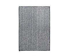 RIDDER 7021310-00 Fresh Badteppich, Teppich, Vorleger, Polyester, schwarz, ca. 50x70 cm