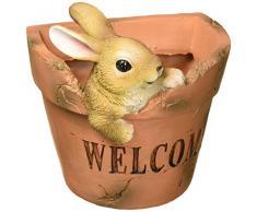 Summerfield Terrace 10018694 Blumenkübel Welcoming Bunny, Mehrfarbig