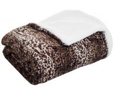 Lavish Home Fleecedecke, Rückseite Sherpa King Mink