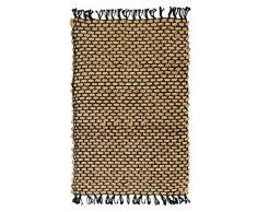 Jute Handgewebte Naturfaser Teppich 160 x 240
