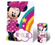 Disney Minnie Fleecedecke, 150 x 100 cm, Rosa, 150100
