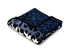 Bocasa by biederlack Wohndecke Baumwollmischung jeansblau Größe 150x200 cm