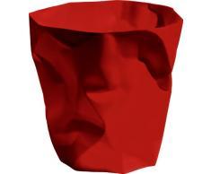 Essey Papierkorb Mülleimer Bin Bin, rot, Polyethylen HD (HDPE), Classic