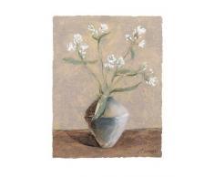 Eurographics AF1003 Antonio Feralli, White Phlox 40 x 50 cm, Hochwertiger Kunstdruck