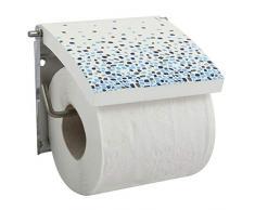MSV Toilettenpapierhalter, Blau, 13 x 15 x 11,5 cm