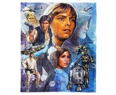 """Star Wars Disney Master of Evil"""" Überwurf, seidenweich, 116,8 x 152,4 cm, Mehrfarbig One Size Beenden Sie die Rebellen"""