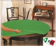 Tischtuchklammer, rund, 140 cm, mit Gummizug, Geschenkidee Poker
