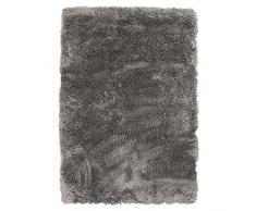 Thedecofactory Teppich Extra Weich, Polyester, Taupe, 90 x 60 x 2 cm