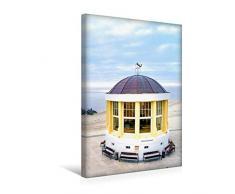 Premium Textil-Leinwand 30 x 45 cm Hoch-Format Pavillon mit Weihnachtsbaum   Wandbild, HD-Bild auf Keilrahmen, Fertigbild auf hochwertigem Vlies, Leinwanddruck von Andrea Dreegmeyer