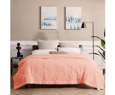 SunStyle Home Bettdecke, Mikrofaser, 04 King Blush Pink