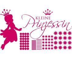Graz Design 770092_100x57_041 Wandtattoo Set Kinderzimmer Mädchen Sterne Spruch kleine Prinzessin