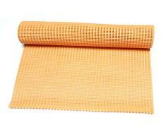 Dependable Antirutschmatte unter Teppich Grip Rutschfeste – Regal und Schublade Liner 30,5 x 91,4 cm – Trim to Fit Lt Orange