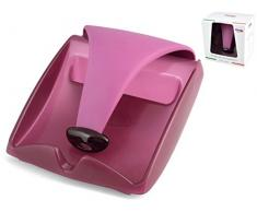 BIESSE CASA Serviettenhalter für Papierservietten, Polypropylen/San, Violett