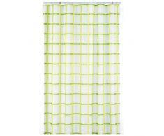 Kela Laneta Vorhang für die Dusche, Polyester, Grün 180x 200cm