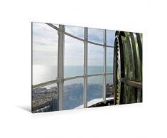 Premium Textil-Leinwand 120 x 80 cm Quer-Format Laterne des Leuchtturms von Mont Saint-Clair   Wandbild, HD-Bild auf Keilrahmen, Fertigbild auf hochwertigem Vlies, Leinwanddruck von Patrice Thébault