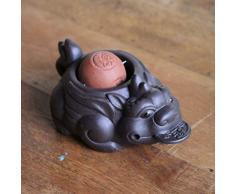 TEASOUL Keramik Tee-Dragonball Figur ist EIN Auspicious Symbol auf das Fach während der Teezeremonie platziert Werden, None