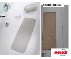 Meusch 2070201002 Duscheinlage Monza, 55 x 55 cm, beige