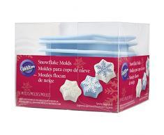Wilton Mini-Kuchen Silikon Form 6pcs-snowflake