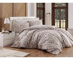 EnLora Home Bettdecke, Einzelbett, Beige White, 155 x 220 cm, 2 Einheiten