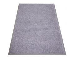 Miltex Eazycare Pro Schmutzfangmatte, Polyamid & Nitril Gummi-Rücken, grau, 150 x 85 cm